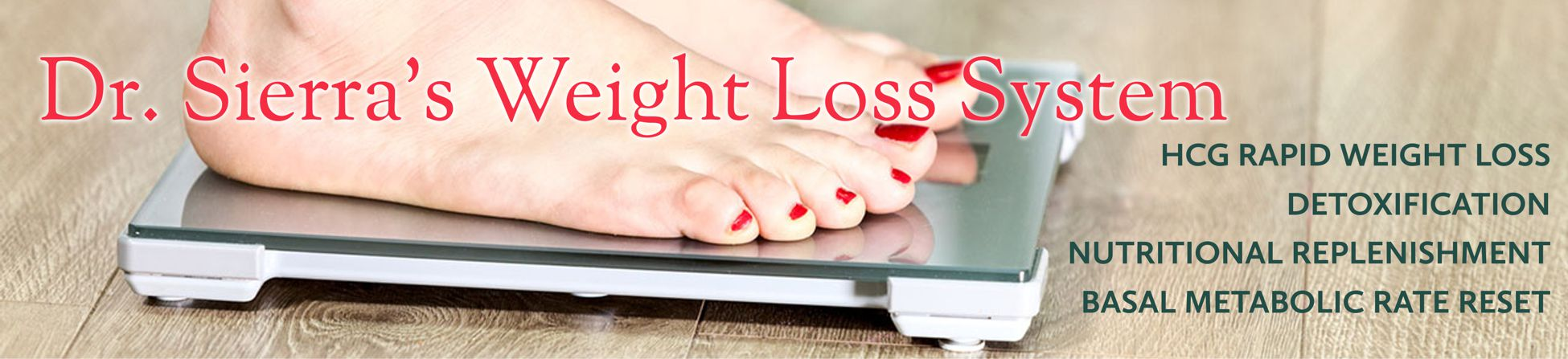 Individually Tailored HCG Weight Loss